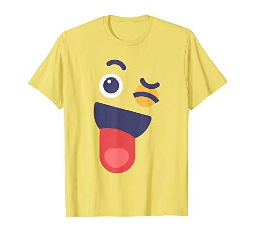 Lengua Orgullosa Sentimientos de emoción de cara Disfraz Camiseta
