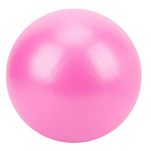 Pelota de Pilates, mejora el equilibrio A prueba de explosiones Mejora la flexibilidad Mini para interiores o exteriores para entrenamiento central(rosado)