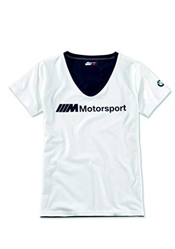 BMW M Motorsport T-Shirt Damen Logo (L)