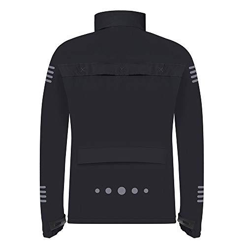 Proviz Classic Hi Viz Reflective Men's Waterproof Jacket Hi Visibility Coat, S