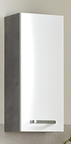 Pelipal 913 Hanau Wandschrank, Holzdekor, Betonoptik, 20,0 x 30,0 x 70,0 cm