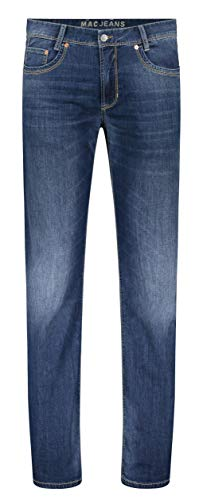 MAC Jeans Herren Arne Straight Jeans, Blau (Midblue Authentic Used H430), 34W / 34L