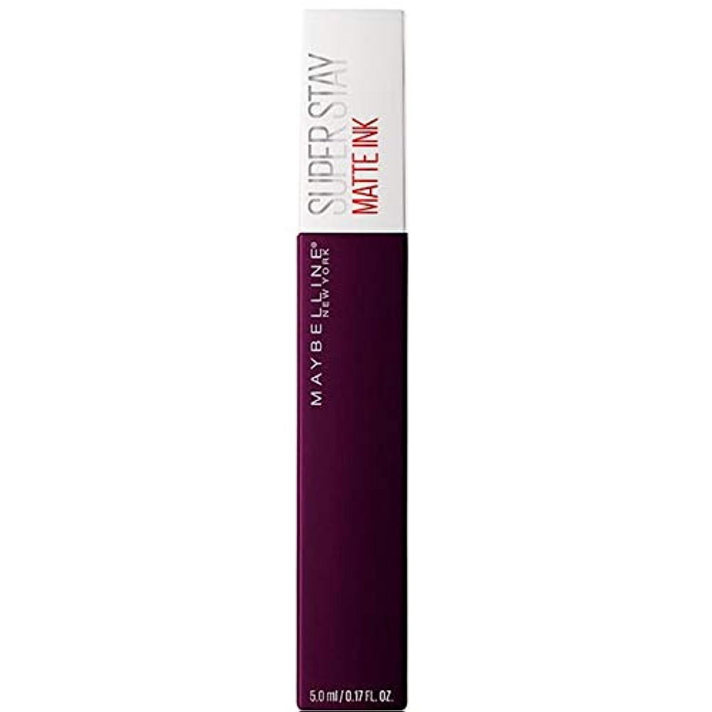 インストラクター品渇き[Maybelline ] メイベリンSuperstayマットインク液45現実逃避 - Maybelline Superstay Matte Ink Liquid 45 Escapist [並行輸入品]