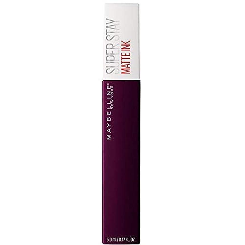 剥離肯定的もし[Maybelline ] メイベリンSuperstayマットインク液45現実逃避 - Maybelline Superstay Matte Ink Liquid 45 Escapist [並行輸入品]