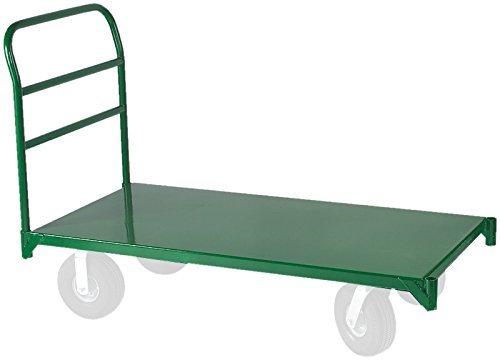 Wesco Industrial Products 272267 12 Gauge Steel Platform Truck, 4000 Pound Capacity, 48