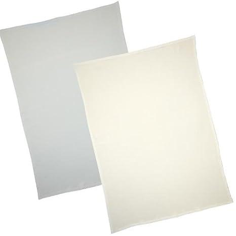 White /& Blue Blue BabyPrem Pk of 2 Flat Pram//Cradle//Stroller Sheets 100/% Cotton White /& Pink Lemon or Cream