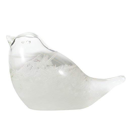 ストームグラスバロメーター鳥形嵐ガラス雪だるま天気予測300mlミニボトルクリスタルホームオフィス装飾おしゃれ可愛い