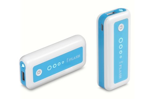 iFlash 5600mAh Backup External Battery Source/Charger for Apple iPhone 6 Plus / 6 / 5S/5C/5/4/4S, iPod Touch/Classic/Nano (AC Adapter and Apple Cable are NOT included); Motorola MOTO X2/G2/E2/X/G/E, Verizon Droid Razr/X2/Bionic; Samsung Galaxy S6 Edge / S6 / S5 / S4 / S3 / S2 / Mini; HTC: One X/M7/M8/M9 - White Color, Small Size and High Capacity