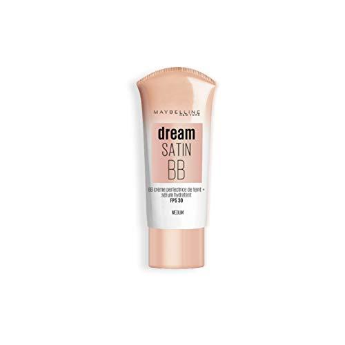 Maybelline New York Satin Dream BB Cream – BB Cream Liquid – Medium 8 in 1
