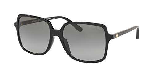Michael Kors 0MK2098U Gafas, BLACK/GREY SHADED, 56 para Mujer