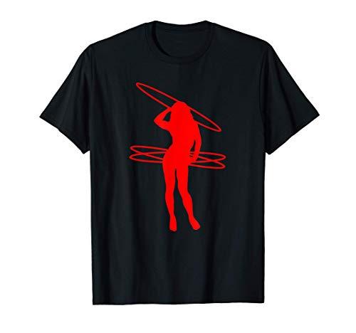 HULA HOOP Shirt Reifen HULLERN Frauen Fitness Hoop Dance T-Shirt