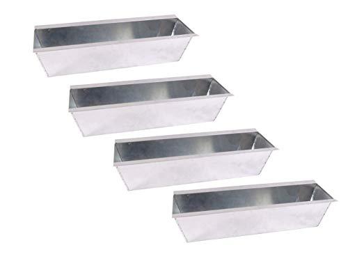 CB Home % Style Blumenkasten Pflanzkasten Set Einsatz für Europaletten Balkonkasten Palette Topf (4)