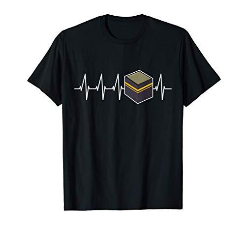 La meca latido del corazón islam hajj regalo musulmán Camiseta