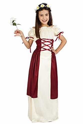 Disfraz de Dama Medieval Festival para niña
