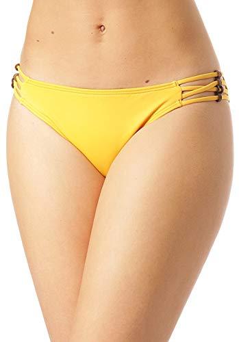O'Neill Pw Koppa Coco - Parte inferior de bikini para mujer, rojo dorado, 38