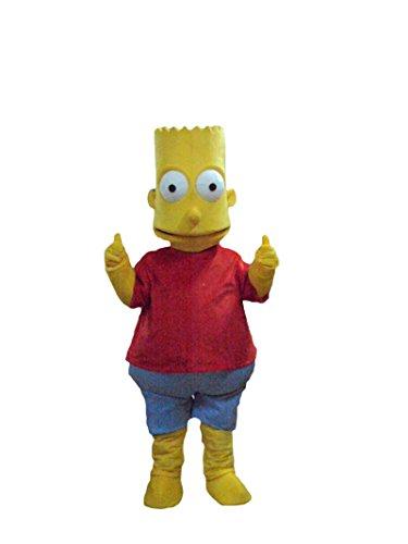 Happy Shop - Disfraz de Halloween para Adulto, Diseo de Bart Simpson