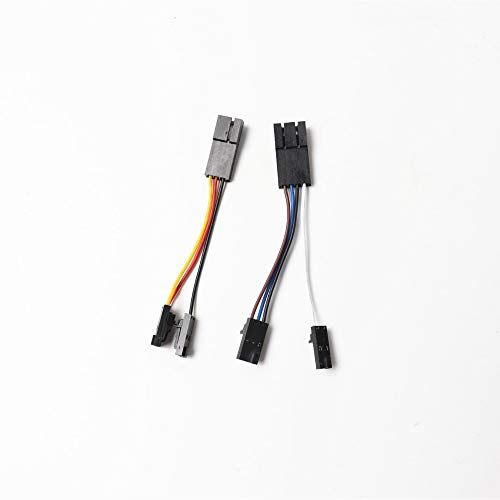 Gimax Prusa i3 MK2/MK2s to MK2.5 upgrade V-cables left hotend fan and PINDA V2 probe