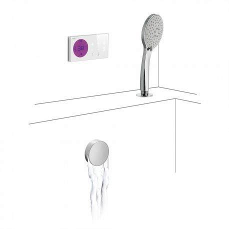 Tres Griferia - Kit Electrónico De Bañera Termostático Empotrado ShowerTechnology · Centralita...