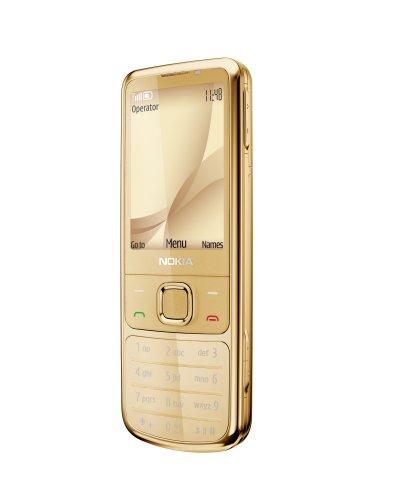 Nokia 6700 Classic All Gold (UMTS, GPRS, Bluetooth, Kamera mit 5 MP, 18-Karat-Goldauflage) UMTS Handy