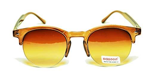 FIKO MOSCOT CLUB - Gafas de sol polarizadas estilo Johnny Depp - Moderna, cult, vintage, unisex, color negro