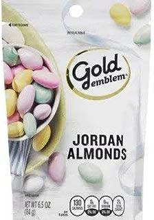 Gold Emblem Jordan Almonds