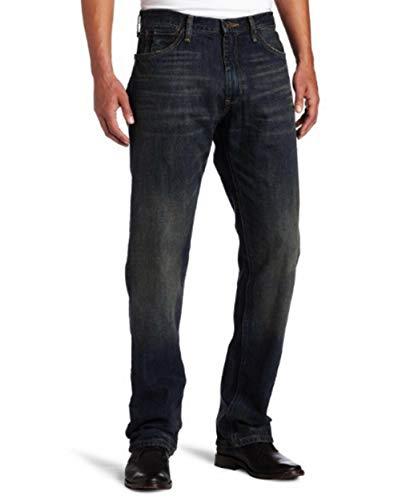 Nautica mens Nautica Men's Relaxed Fit Pant Jeans, Rigger Blue, 28W x 32L US