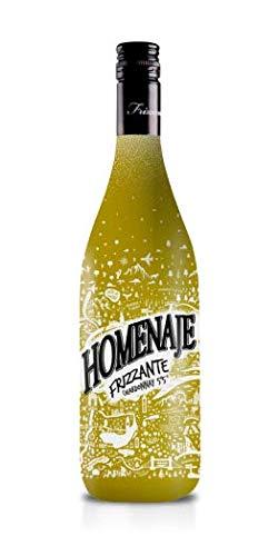 Homenaje - Frizzante Dulce- Chardonnay 5`5º - Cóctel Aromatizado a Base de Productos Vinicolas