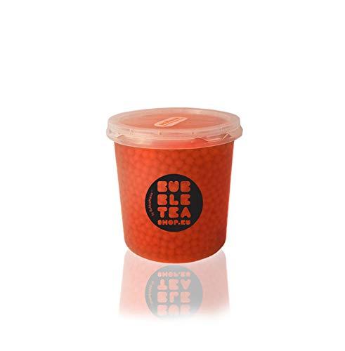 Popping boba Fruchtperlen für Bubble Tea Erdbeeren (500 g)
