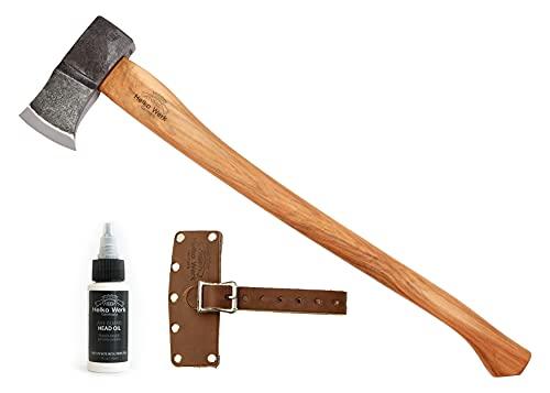 1844 Helko Werk Germany Saxon Splitting Axe - Wood Splitting Axe Splitting Maul Wood Splitter Chopping Axe German Made 13588