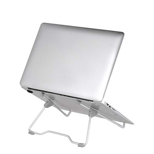 LYRStore886 Foldable Portable Laptop Stand, Aluminum Alloy Stand With Adjustable Viewing Angle And Height, Suitable For Laptop Exquisite workmanship