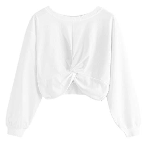 Btruely Damen Hoodie Pullover Frau Herbst Mädchen Gedruckt Sweatshirt Casual Tops