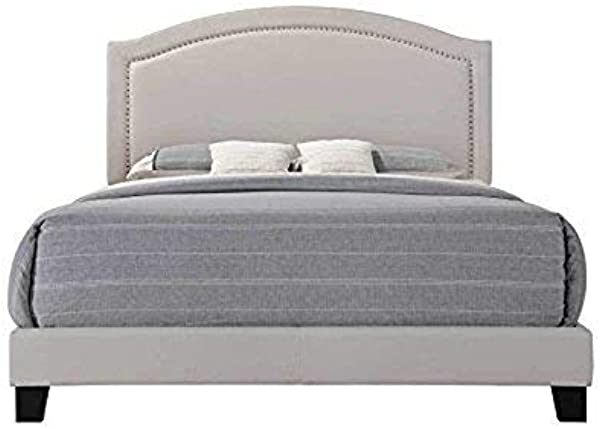 Acme Furniture AC 26340Q Bed Queen Fog Fabric
