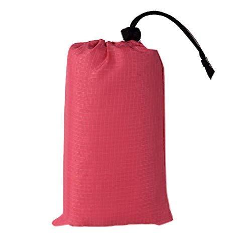 N\C 140 * 200 cm Bolsillo Picnic Impermeable Playa Estera Manta sin Arena Camping al Aire Libre Tienda de campaña Cubierta Plegable Ropa de Cama 3 tamaños 8