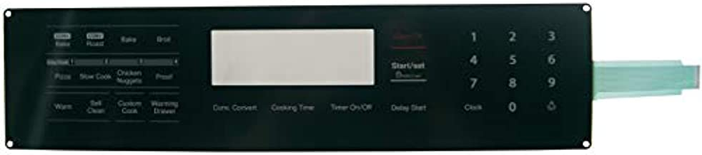Supplying Demand DG34-00017A Range Stove Oven Membrane Switch Touchpad Overlay Replaces 3289596, PS4240761