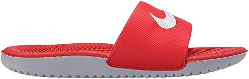 Nike Youths Kawa Slide Red Synthetic Sandals 37.5 EU