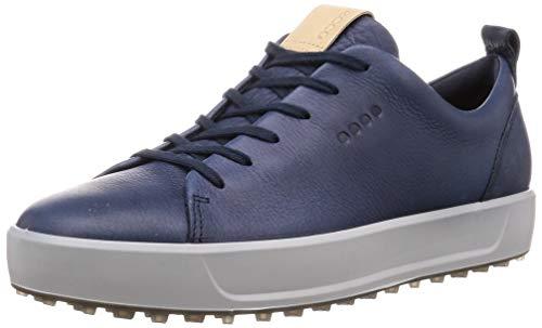 ECCO Soft, Chaussures de Golf Homme, Bleu (Azul Marino 15130401038), 46 EU