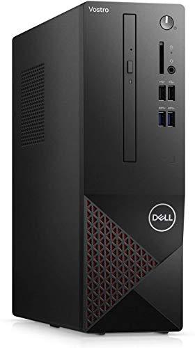 2021 Newest Dell Vostro 3000 SFF Small Business Desktop, Intel Quad-Core i3-10100 3.6Ghz up to 4.3 GHz, 16GB Memory, 1TB Hard Disk Drive, DVD-RW, WiFi, HDMI, VGA, Win10 Pro, Black