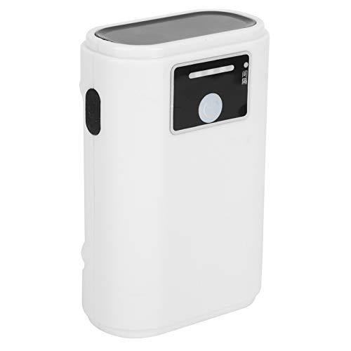 DAUERHAFT Aquarium Air Pump Ultra‑Quiet Aquarium Oxygen Pump Hydroponic Air Bubbler Pump For Aquariums(ZY-N10-USB Lithium Battery Air Pump-Single Hole)