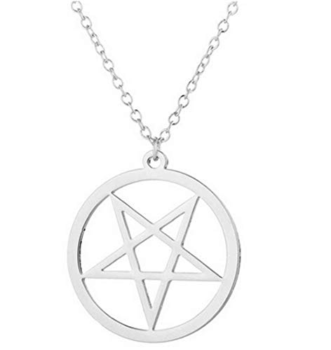 Devil's Trap Pentagram Pendant Necklace