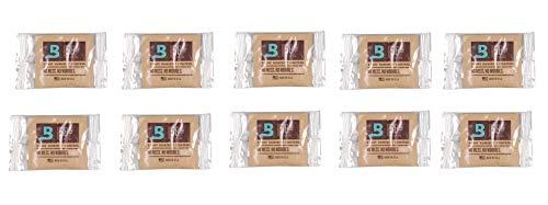 Lifestyle-Ambiente 10 Stück Boveda 58% 8 Gramm Luxusvariante einzelln eingeschweißt Befeuchter Pouch inkl Tastingbogen
