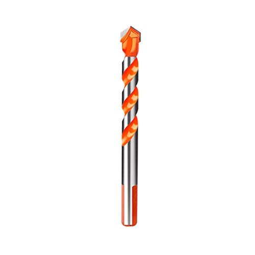 Coohole Drill Bits Set 6-12mm HSS Carbide Triangular Shank Anti-Slip Replacement Bits for Concrete Ceramic Tile Wall Brick Glass Plastic Wood Punching Hole Working