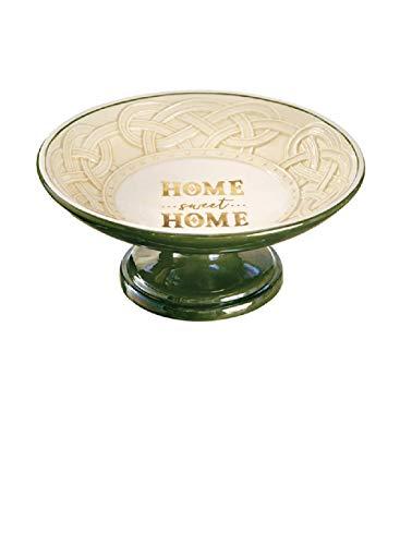 Grasslands Road Home Sweet Home Pedestal Dish