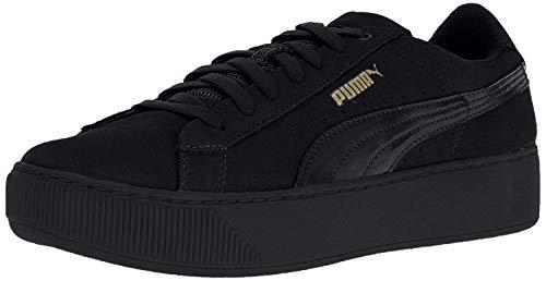 PUMA Damen Vikky Platform Sneaker, Schwarz Black Black 01, 36 EU