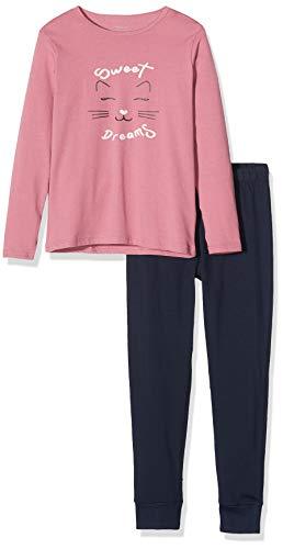 NAME IT Baby-Mädchen 13177801 Zweiteiliger Schlafanzug, Mehrfarbig(Heather RoseHeather Rose), 86 (Herstellergröße: 86-92)