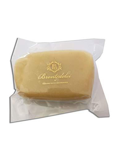 Klumpen sizilianischer Mandelpaste 500 GR mit 35% sizilianischen Mandeln - Almond Paste Ideal für sizilianische Desserts, Mandelmilch, Granita, Eis