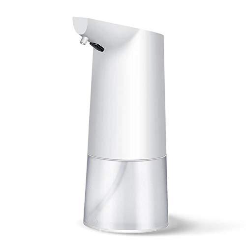 HLGQ Automático dispensador de jabón sin Contacto dispensador 350 ml Burbuja rápida Capacidad se Puede Poner en desinfectante de Manos Gel de Ducha Champú Detergente Limpiador Facial Conveniente