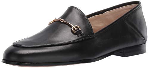 Sam Edelman Women's Loraine Classic Loafer, Black Leather, 5
