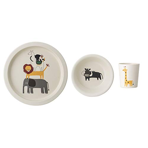 Bloomingville Geschirr Set Safari, 3er Set