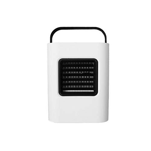QIMANZI Mini Luftkühler Tragbare USB Luftkühler 3 in 1 Air Cooler Luftbefeuchter Luftreiniger 3 Leistungsstufen Mobiles Luftkühler für Office Family Camping(Black)