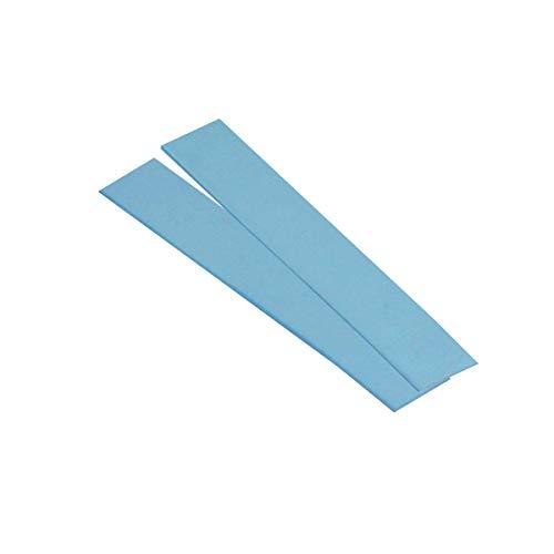 ARCTIC Thermal Pad, 2 Pezzi (120 x 20 x 1,0 mm) - Pad Termico, Eccellente Conduzione del Calore attraverso Silicone e Stucco Speciale, Bassa Durezza, Installazione Facile - Blu
